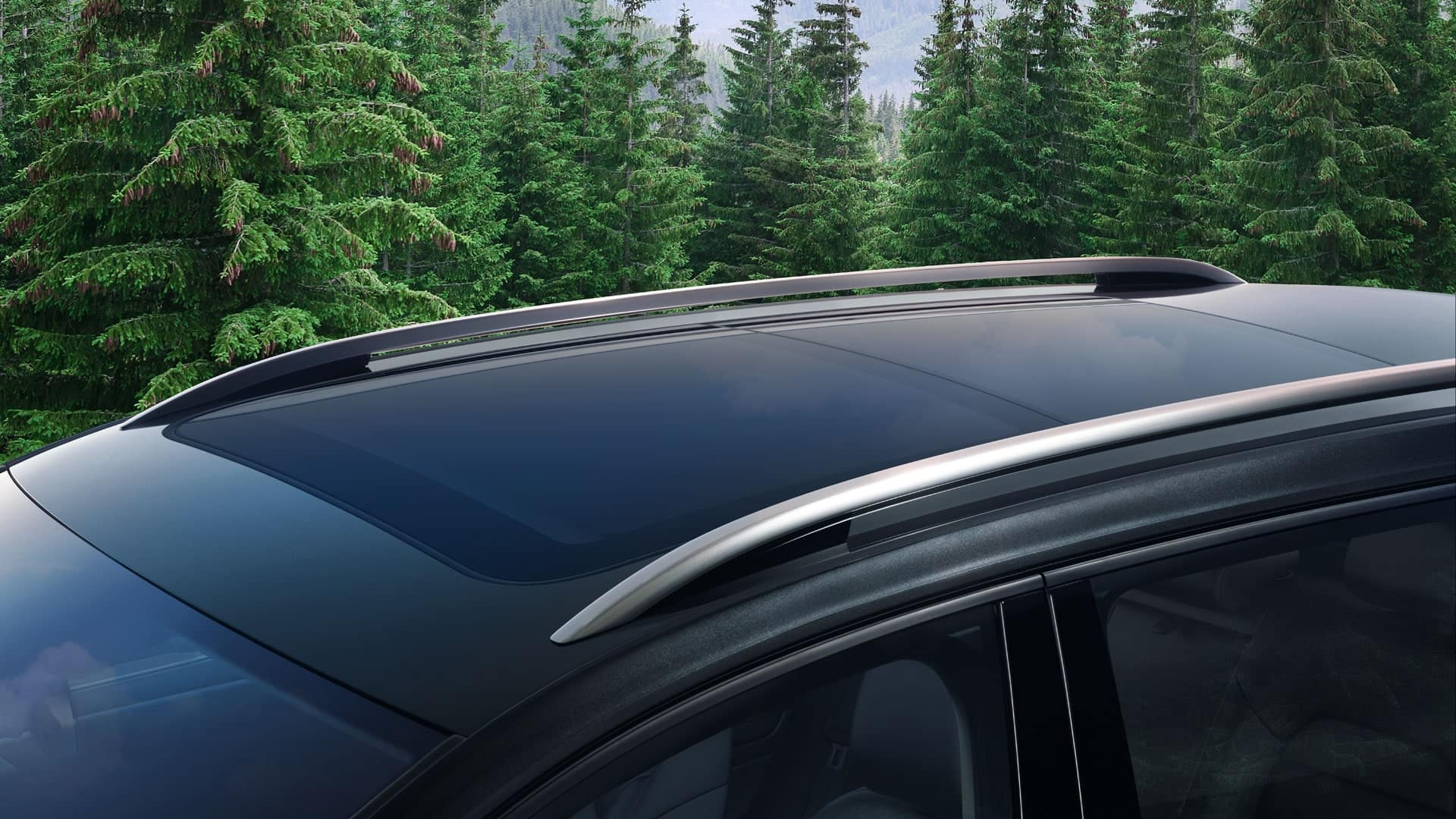 2019 VW Golf Alltrack roof rails