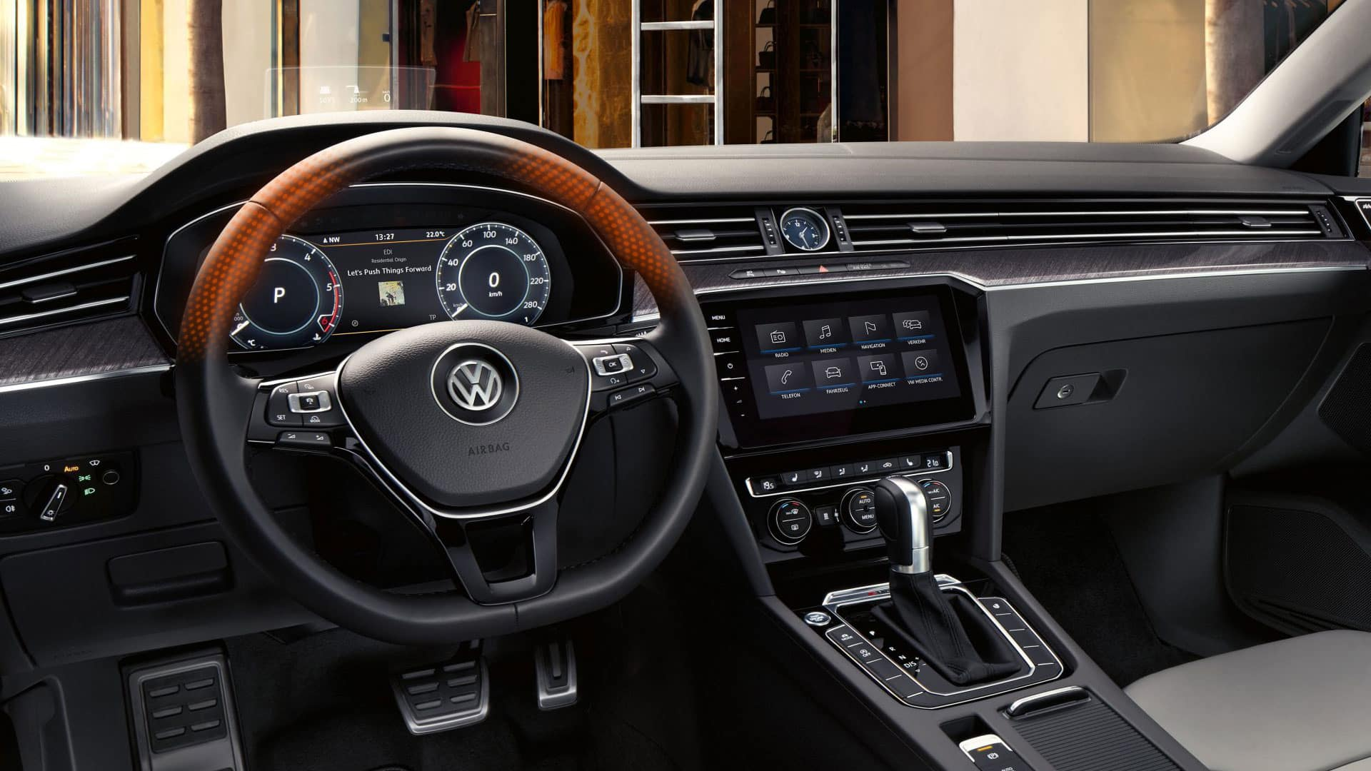 2019 VW Arteon heated steering