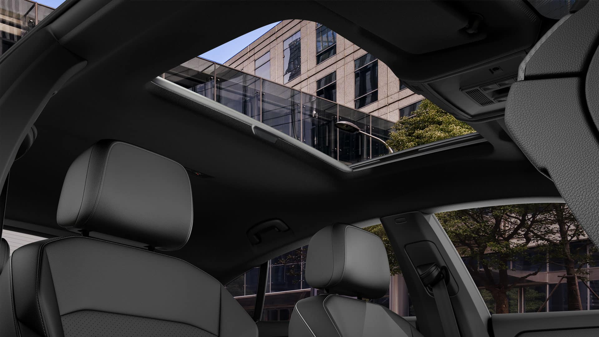 2019 VW Arteon panoramic sunroof
