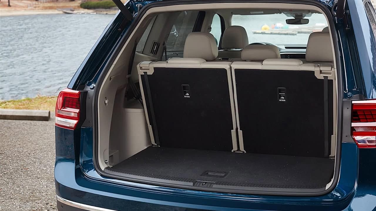 2019 VW Atlas cargo