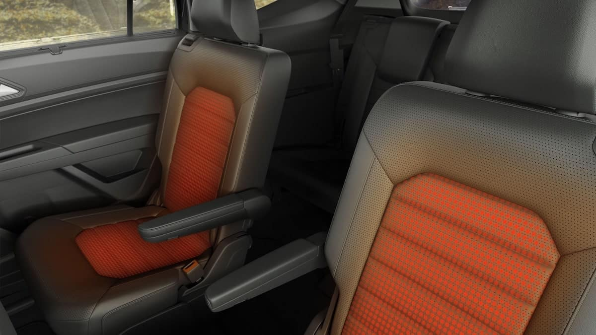 2019 VW Atlas 2nd row heating
