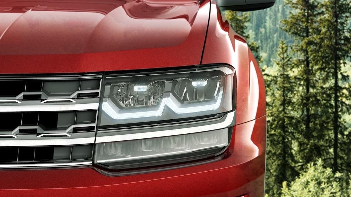 2019 VW Atlas LED lights