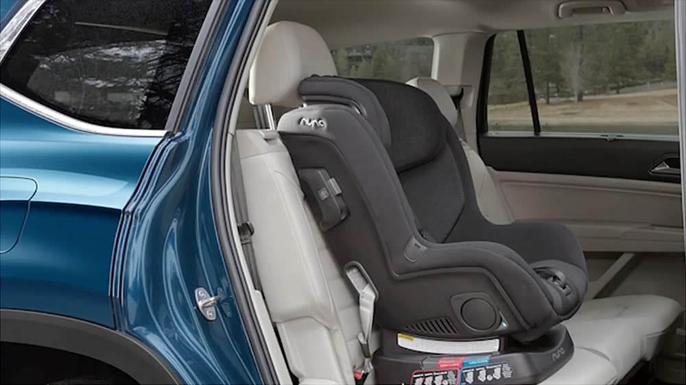 2019 VW Atlas third row seating