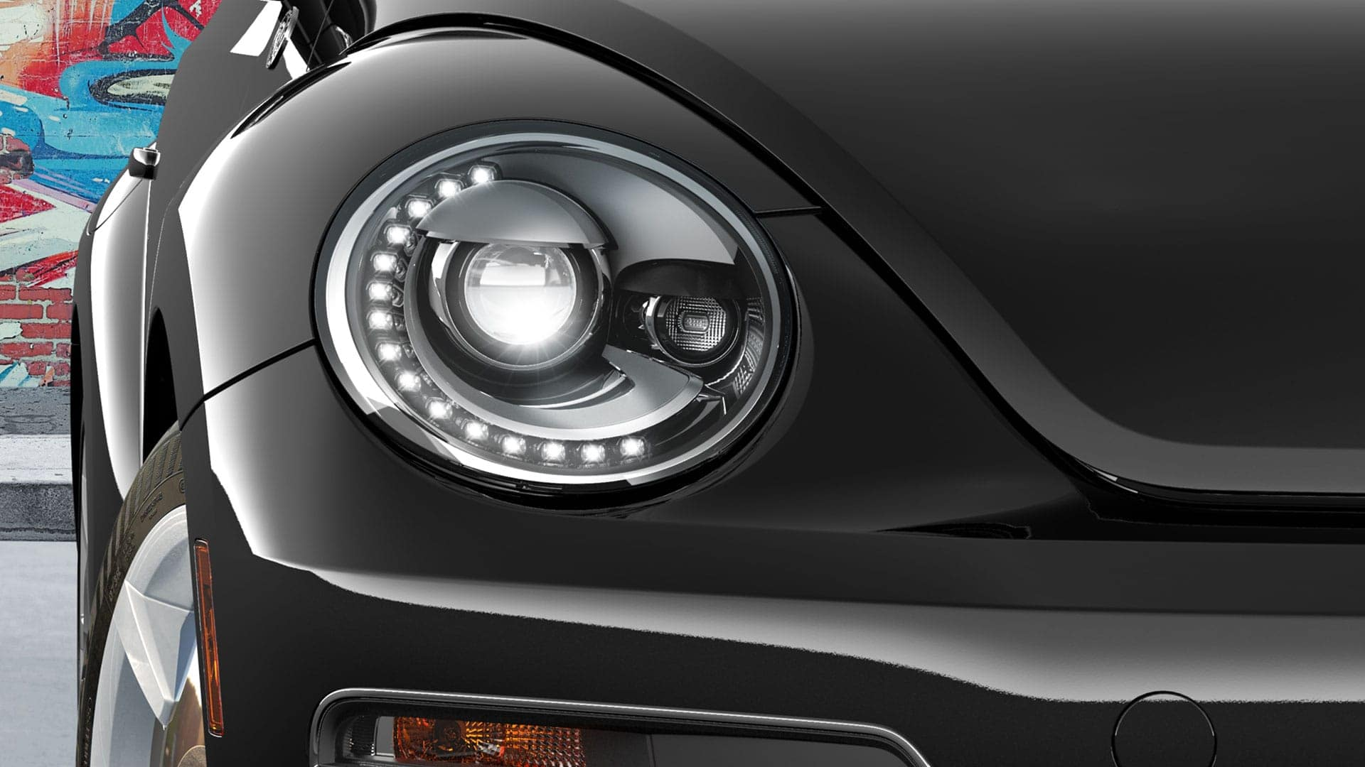 2019 VW Beetle LED lights