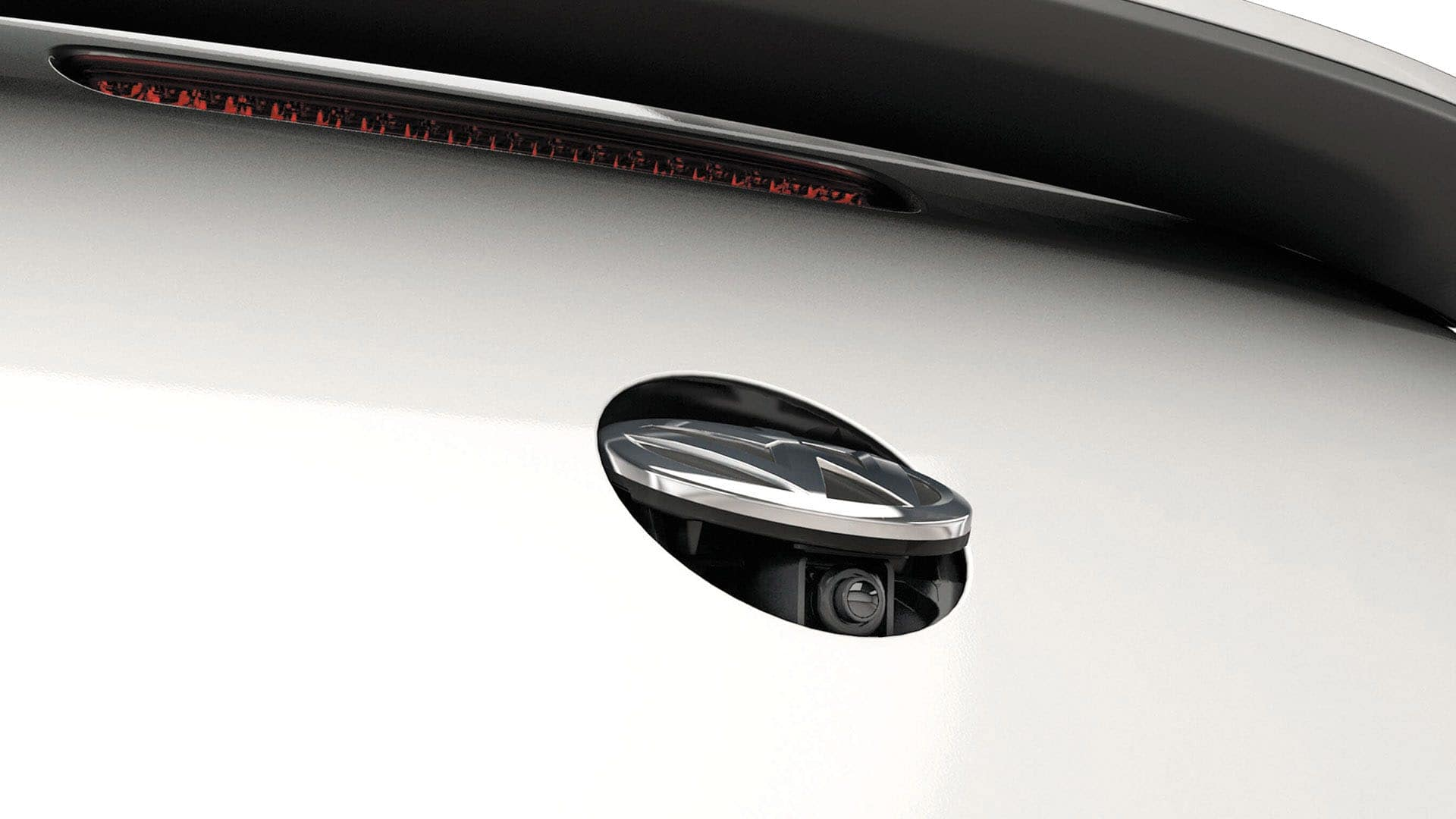 2019 VW Beetle rearview camera