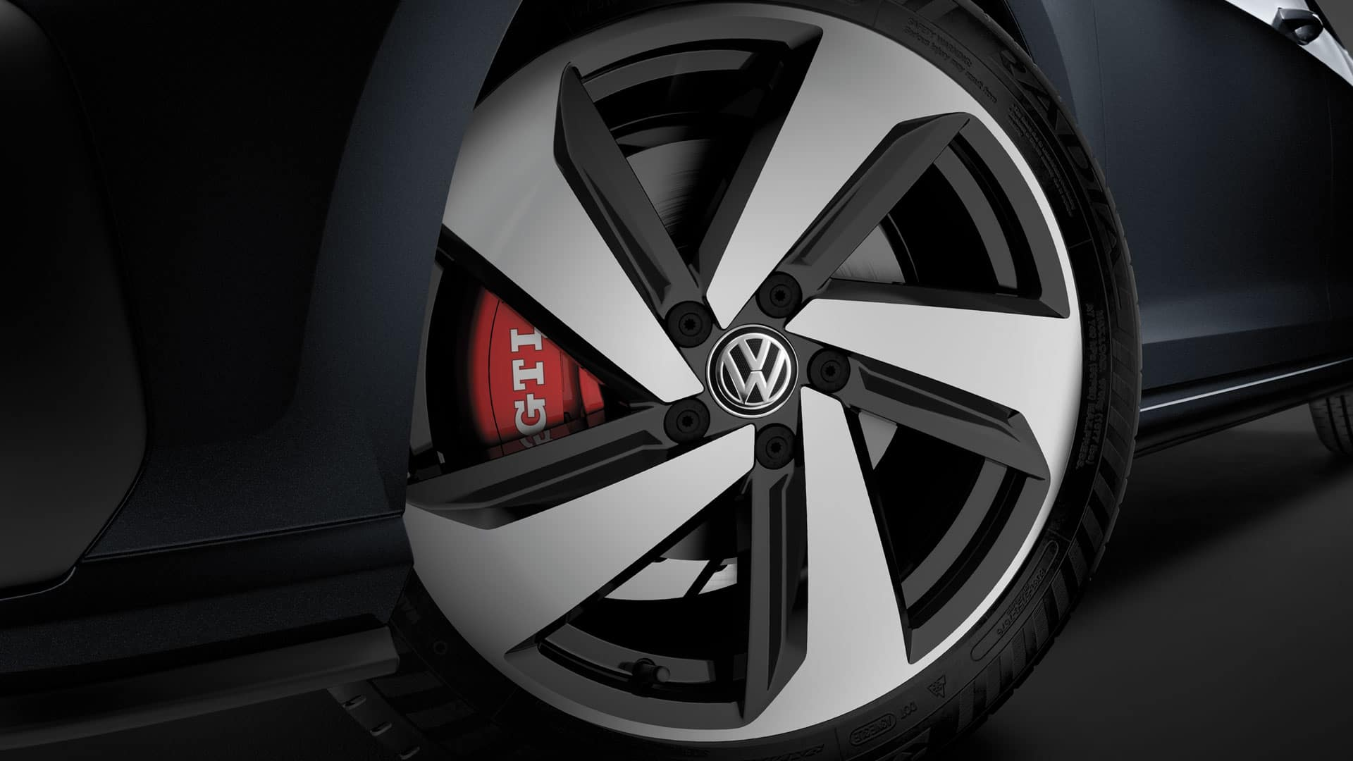 2019 VW Golf GTI milton wheels