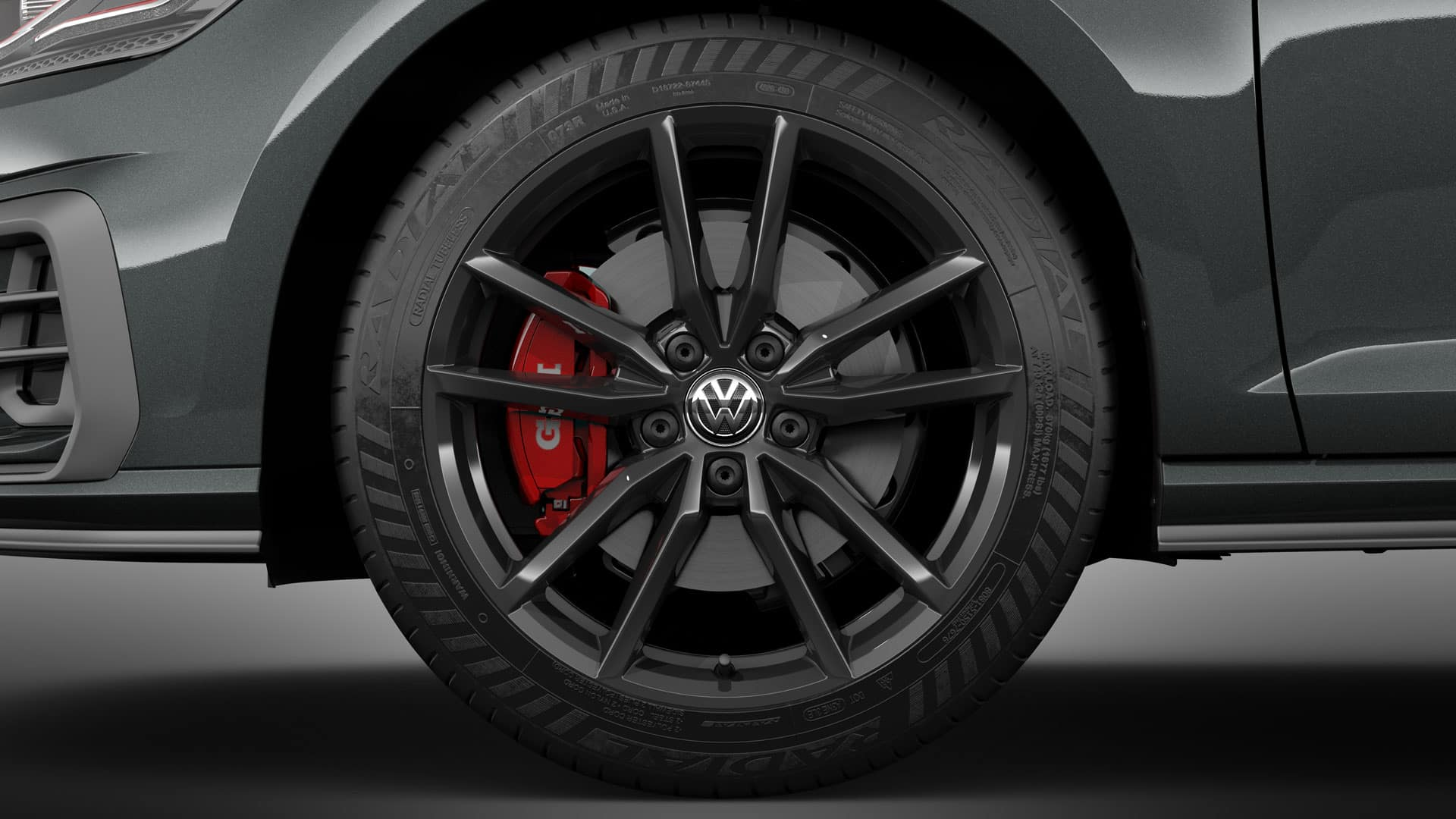 2019 VW Golf GTI pretoria wheels