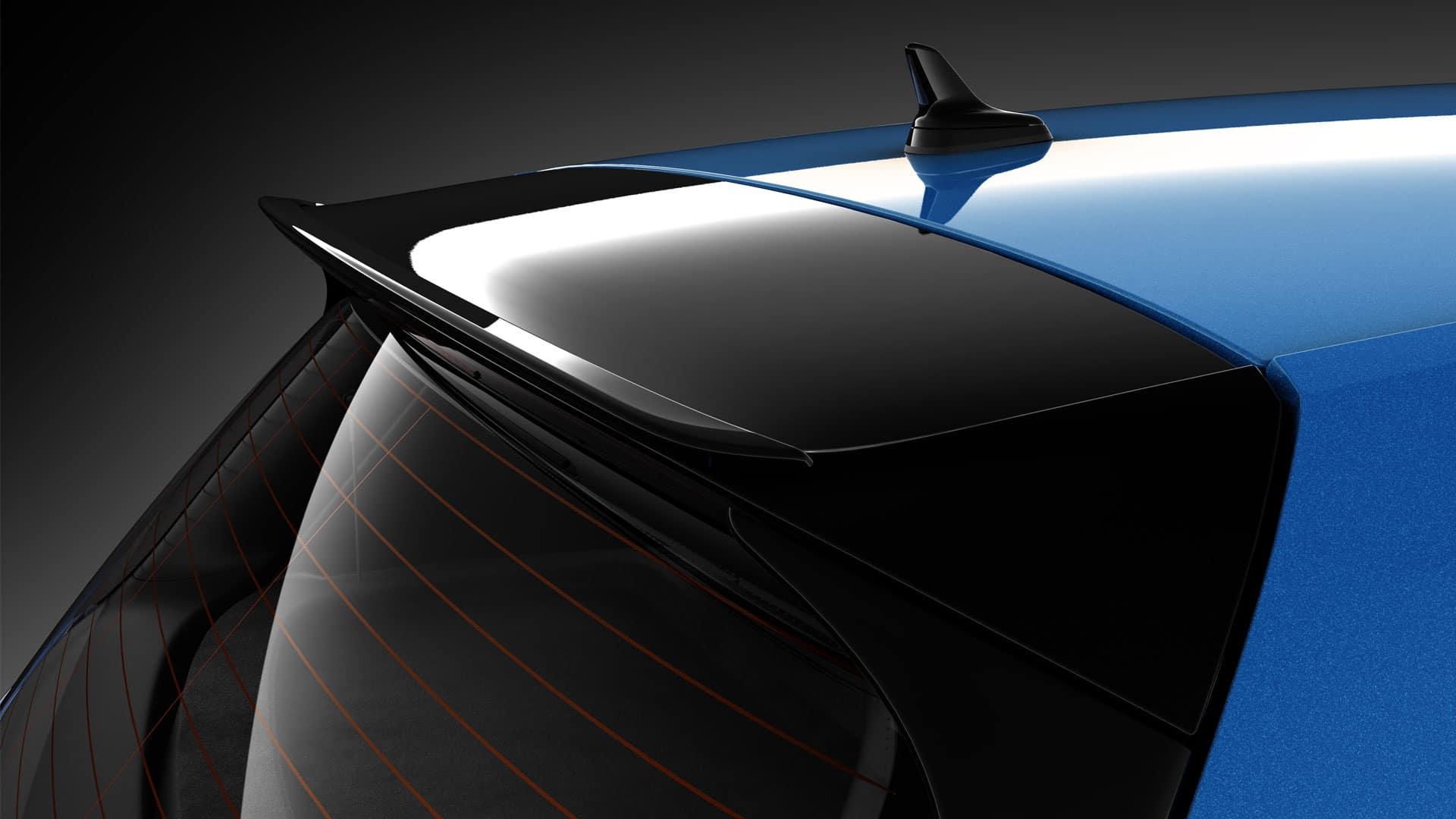 2019 VW Golf GTI vmax spoiler