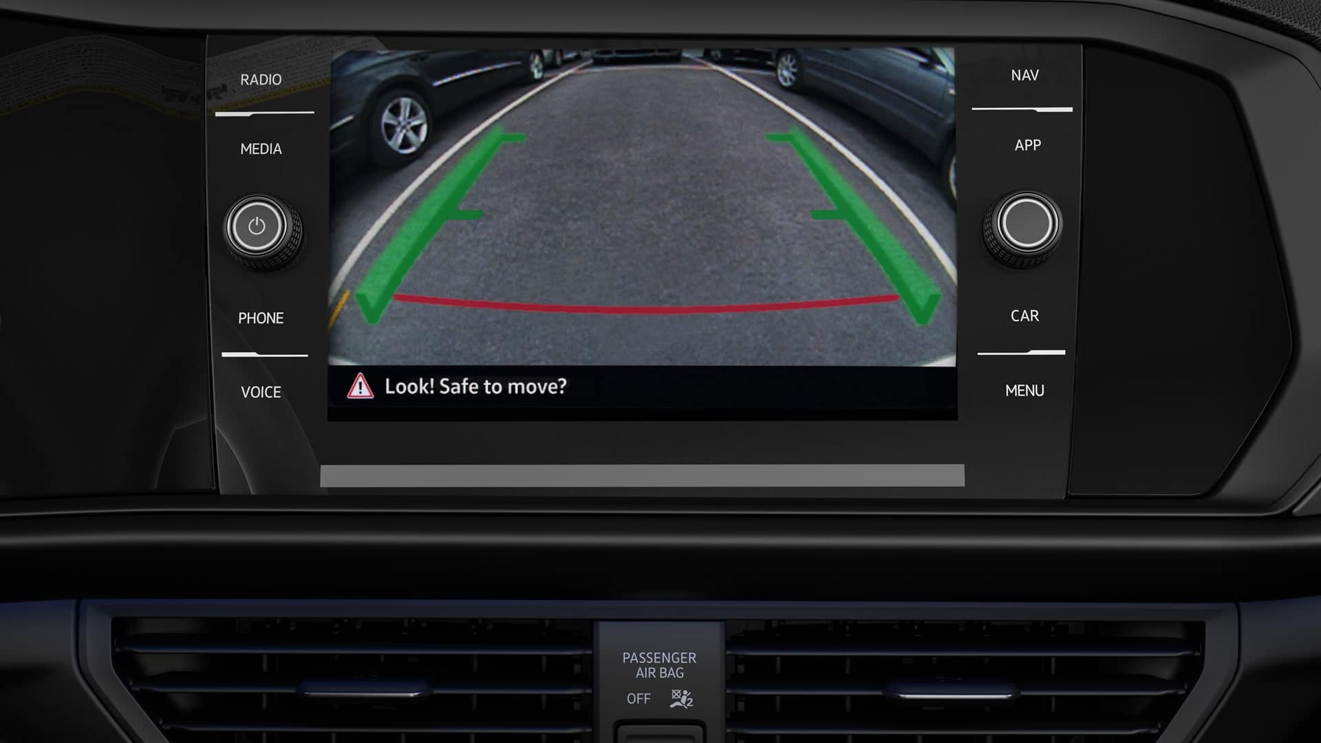 2019 VW Jetta rearview camera