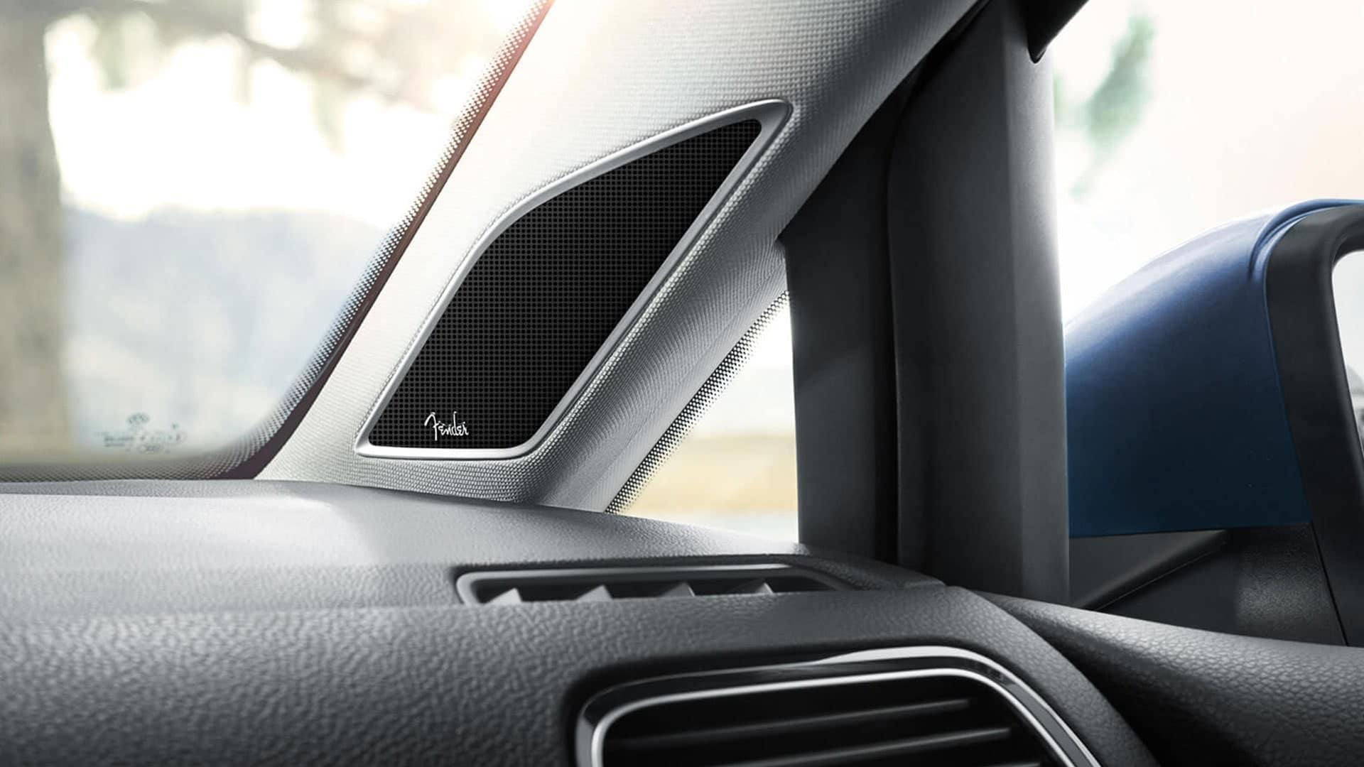 2019 VW Golf SportWagen fender audio