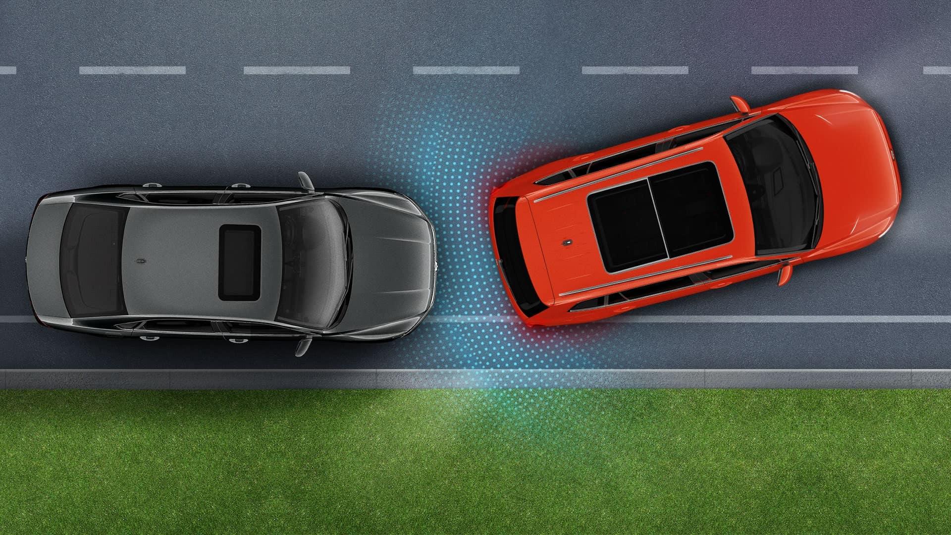 2019 VW Tiguan park distance