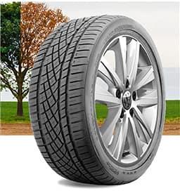 A Volkswagen all-season tire