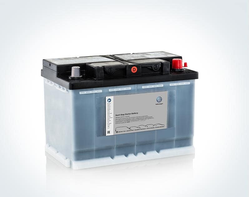 Volkswagen car battery