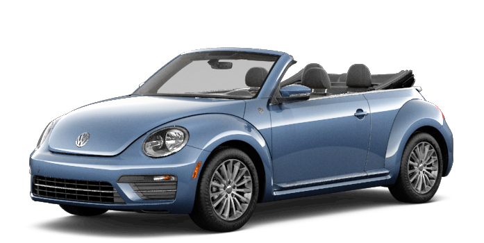 Blue Beetle convertible