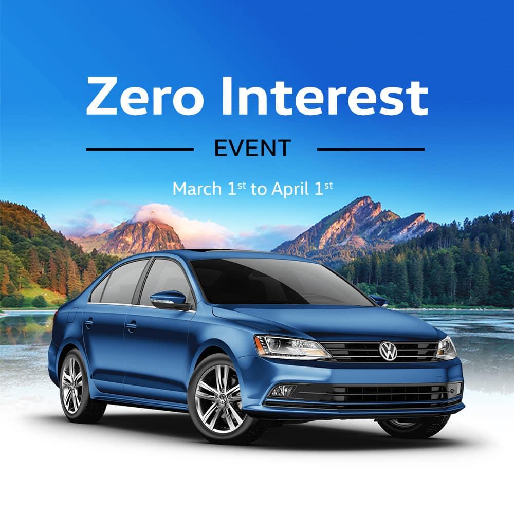 Zero Interest Event