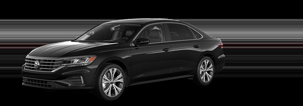 Black VW Passat