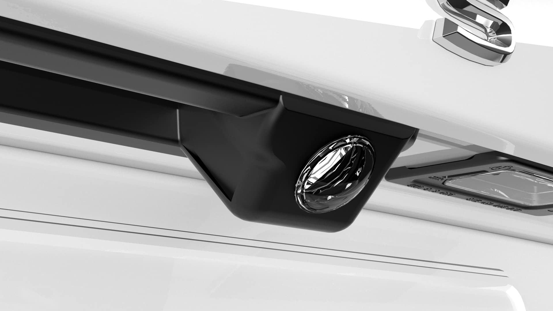 Passat rear-view camera