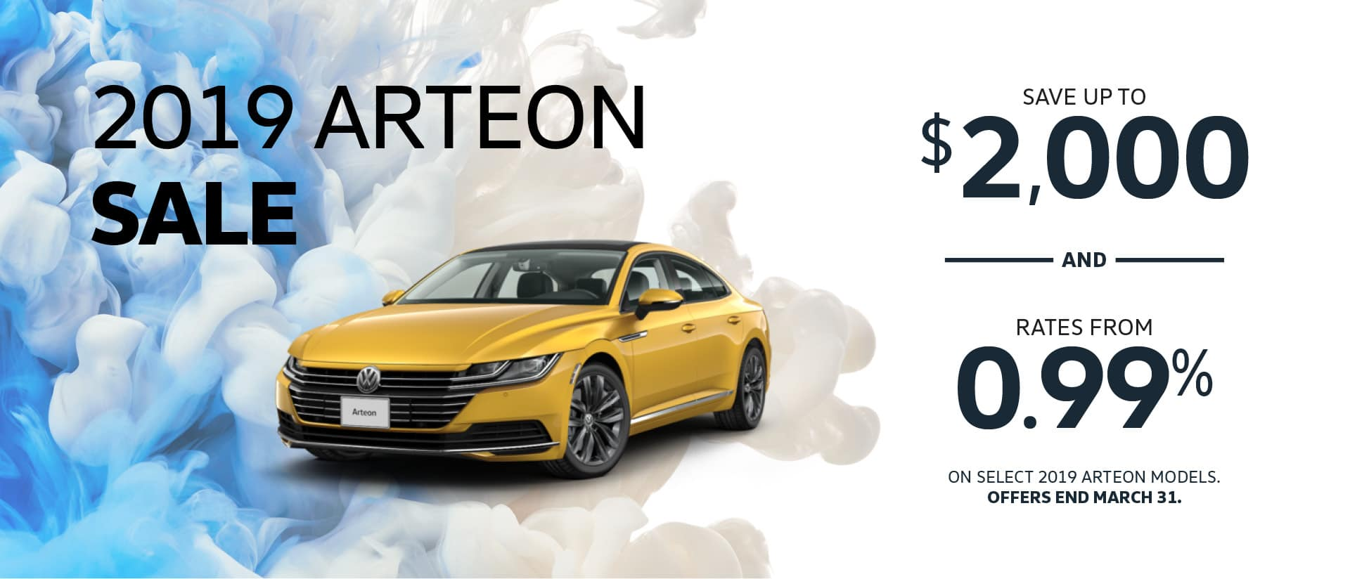 Arteon Offer