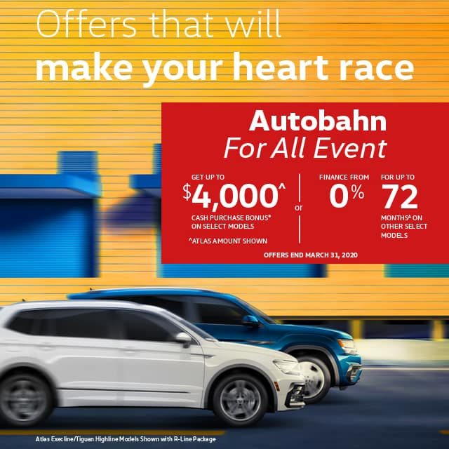 Autobahn for All Event Banner