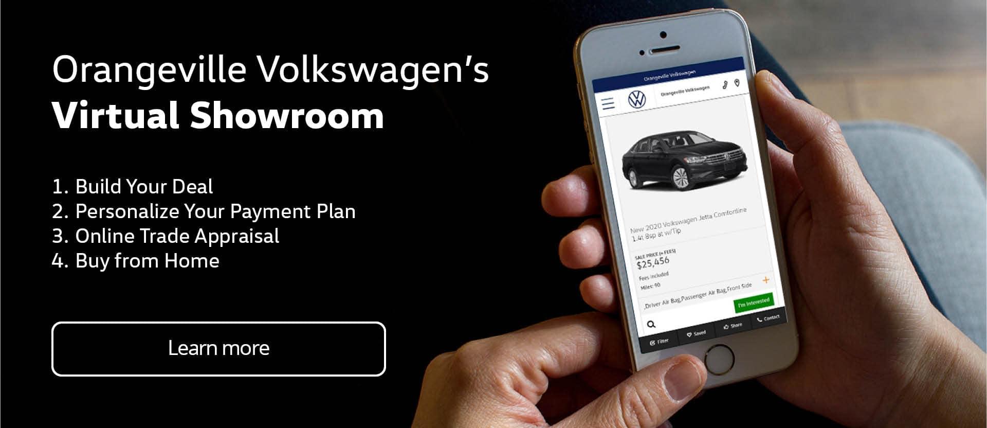 Orangeville VW Virtual Showroom