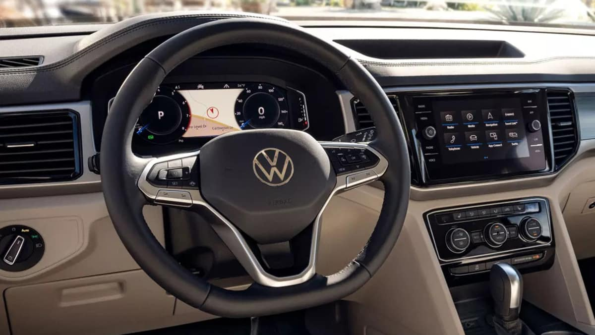 2021 Atlas digital cockpit