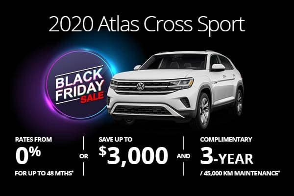 2020 Atlas Cross Sport Black Friday Sale