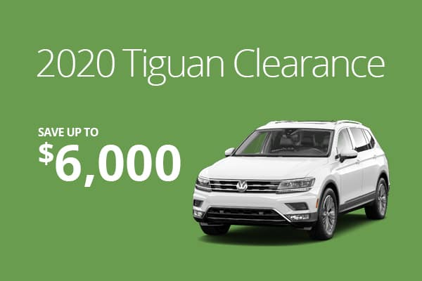2020 Tiguan Clearance