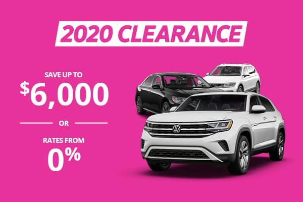 2020 Clearance mobile banner