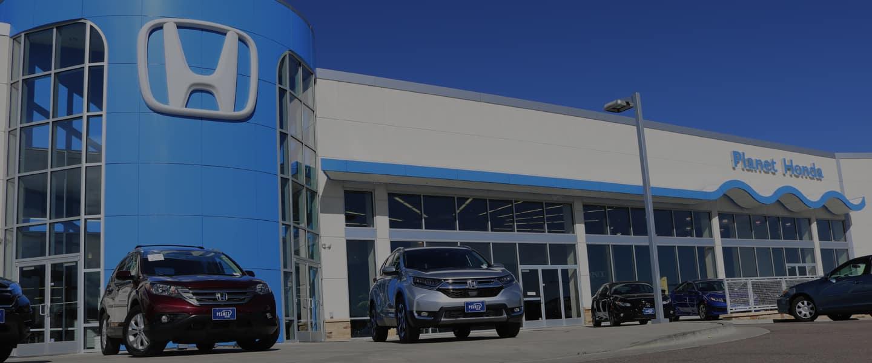 Honda Dealership Denver >> Planet Honda Honda Dealer In Golden Co