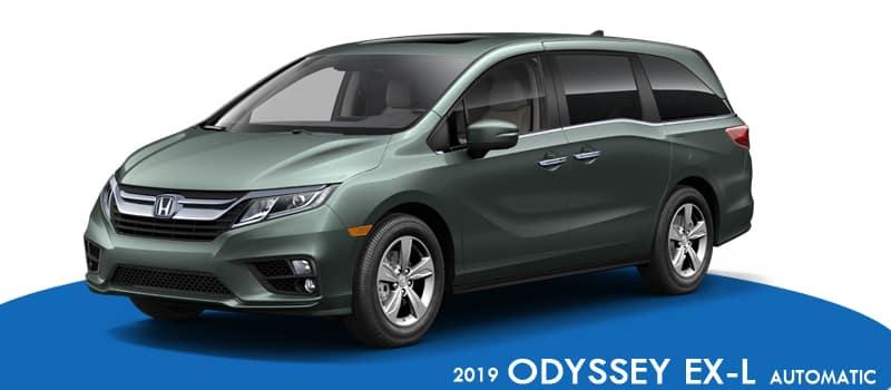 2019 Honda Odyssey EX-L CVT