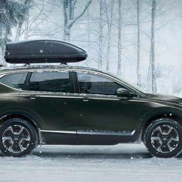 2019 Honda CR-V In snow