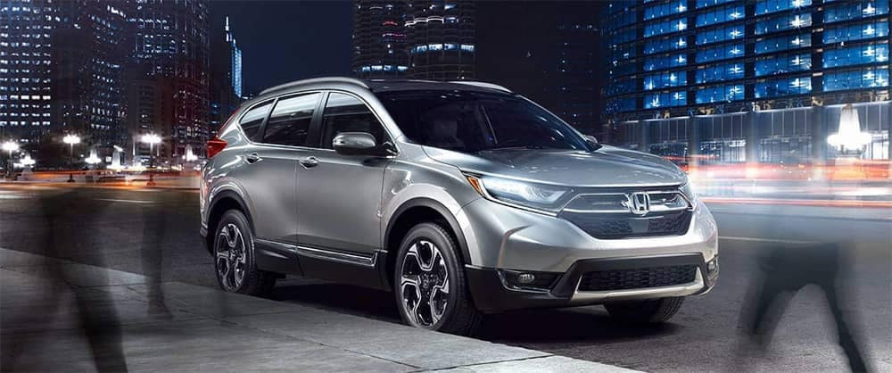 2019 Honda CR-V At Night