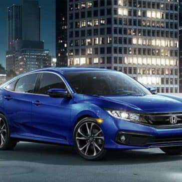 2019 Honda Civic At Night