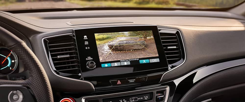 2019 Honda Passport backup camera view