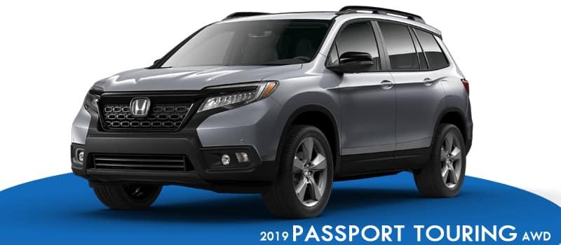 New 2019 Honda Passport Touring AWD
