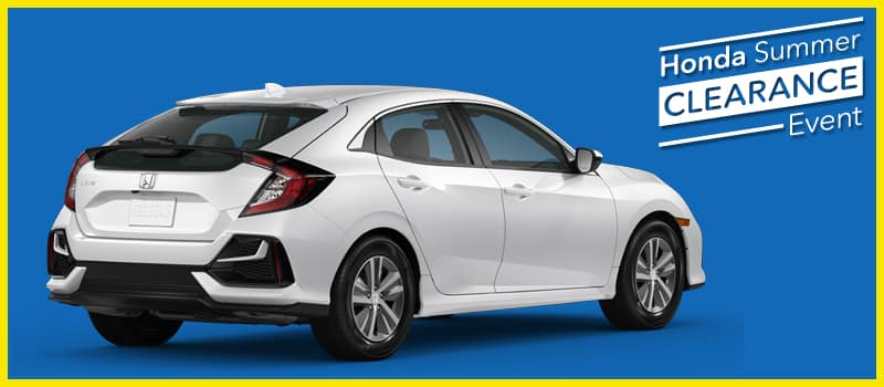 2020 Civic LX Hatchback