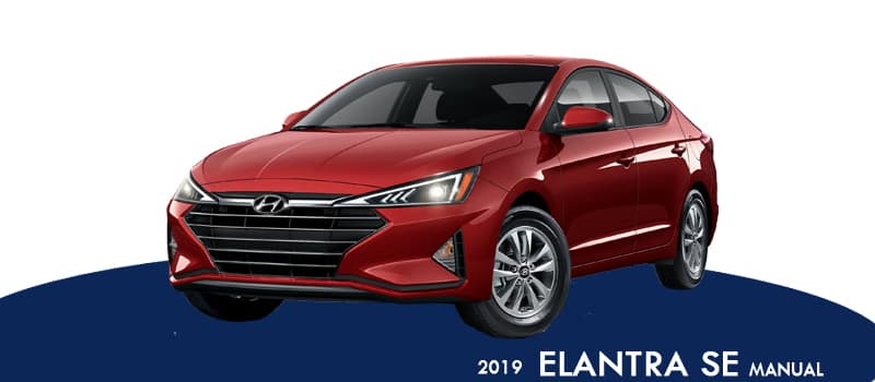 New 2019 Hyundai Elantra SE FWD 4D Sedan