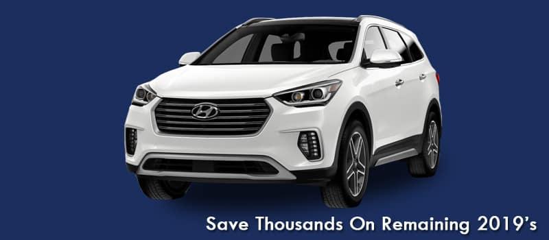 2019 Hyundai Santa Fe XL Sale