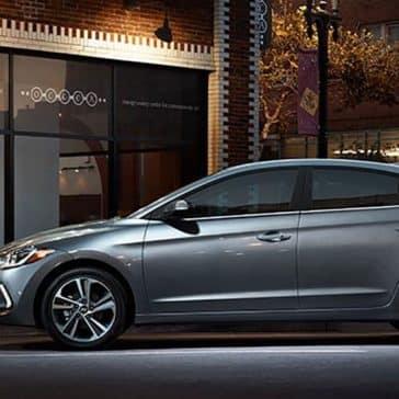2018 Hyundai Elantra side exterior