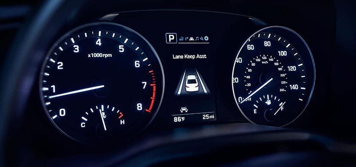 2018 Hyundai Elantra lane departure warning