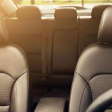 2018 Hyundai Elantra leather seating