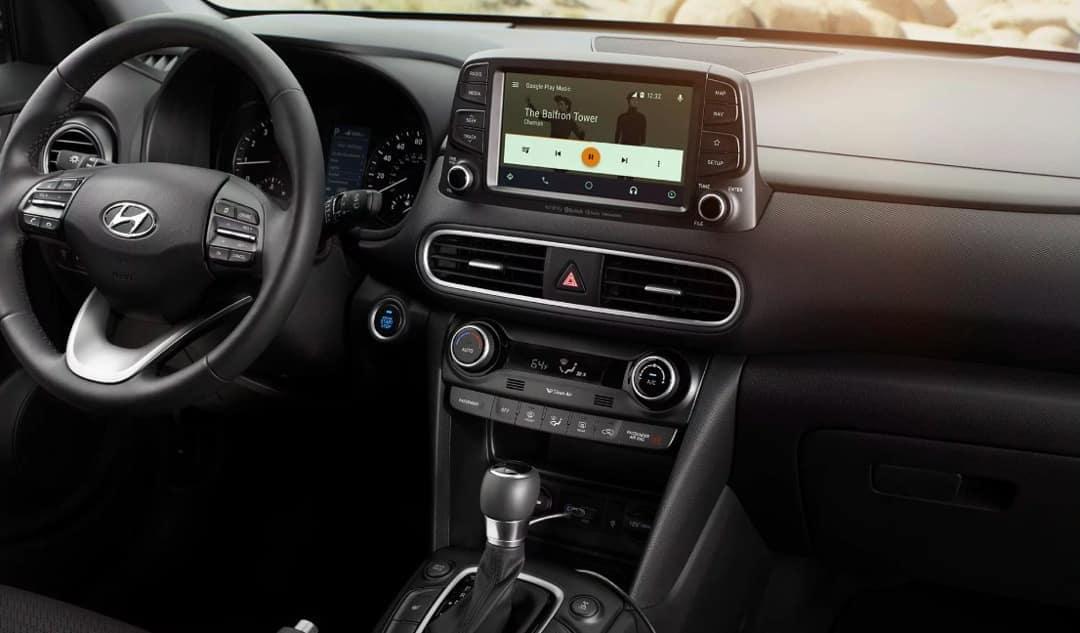 2018 Hyundai Kona dashboard