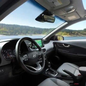 2018 Hyundai Kona front interior