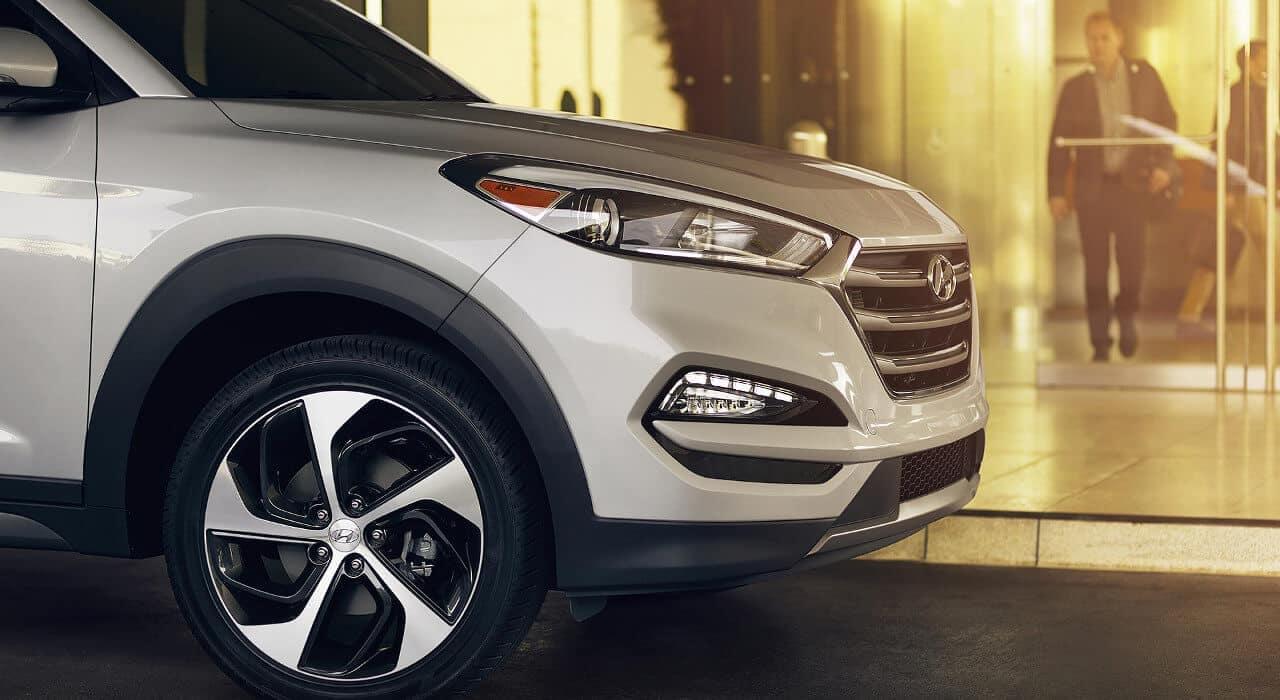 2018 Hyundai Tucson wheels
