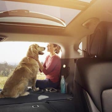 2018 Hyundai Tucson fold down rear seatback