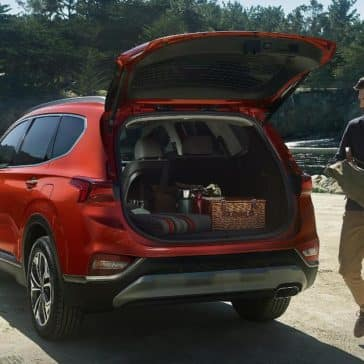 2019 Hyundai Santa Fe liftgate and cargo