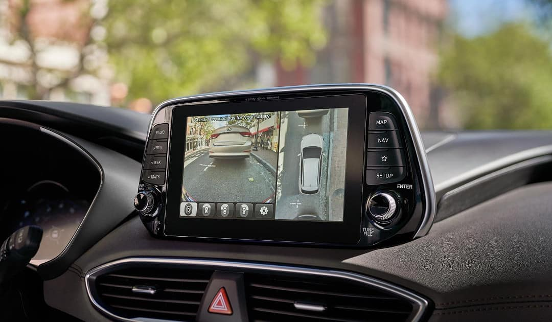 2019 Hyundai Santa Fe surround view camera