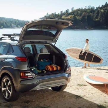 2018 Hyundai Kona rear cargo
