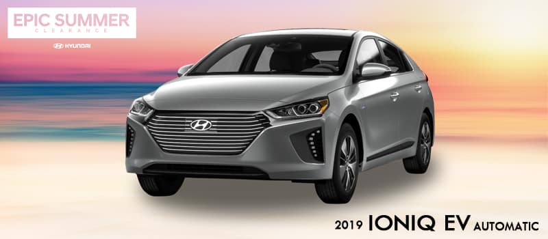 New 2019 Hyundai Ioniq Electric