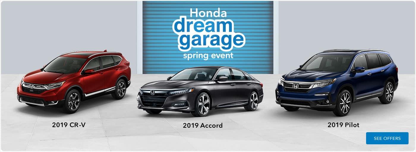 honda dream garage banner